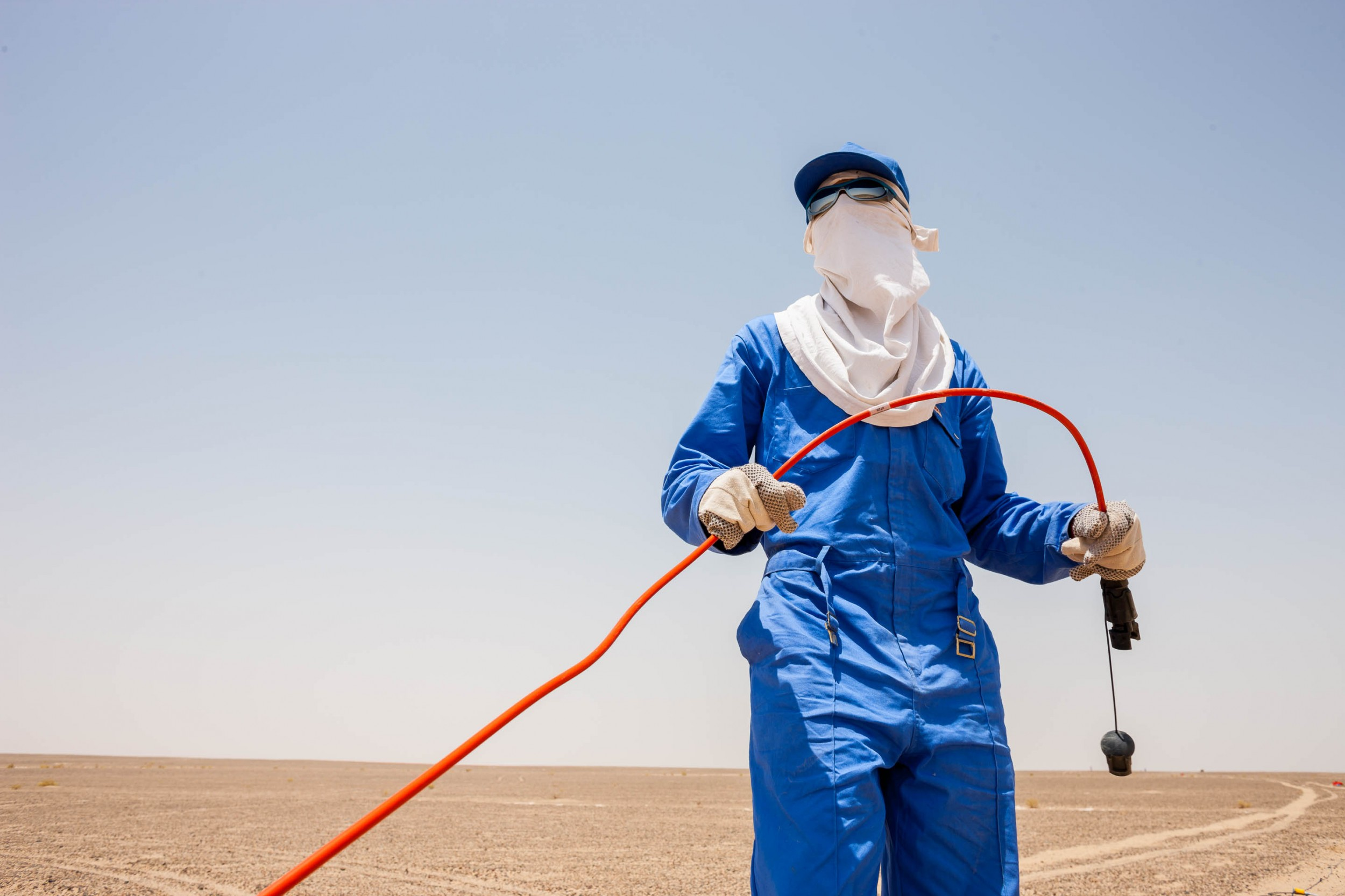 BP Oman Seismic Exploration